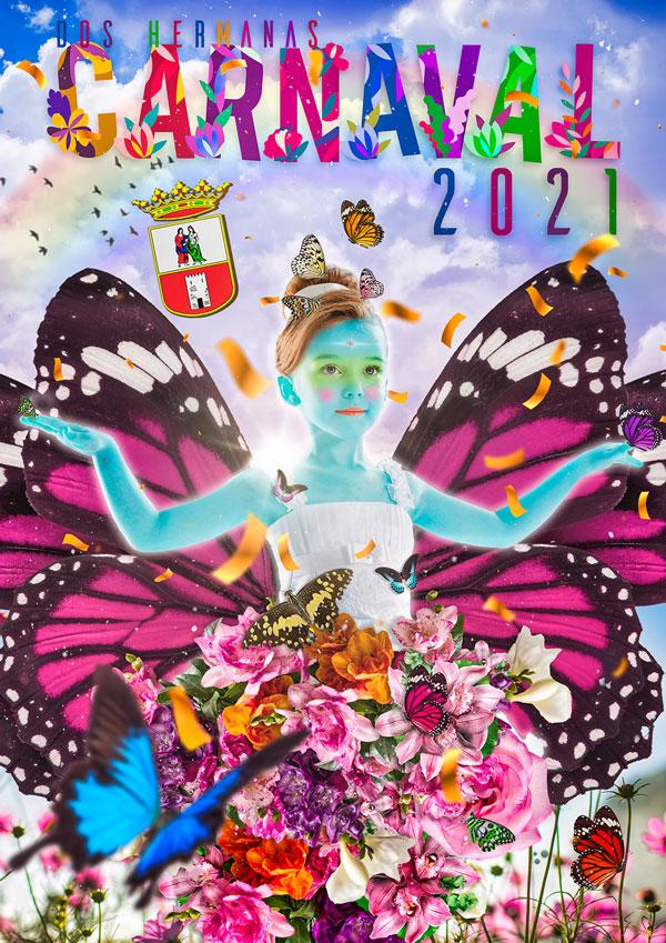 Cartel Carnaval 2021 - Dos Hermanas